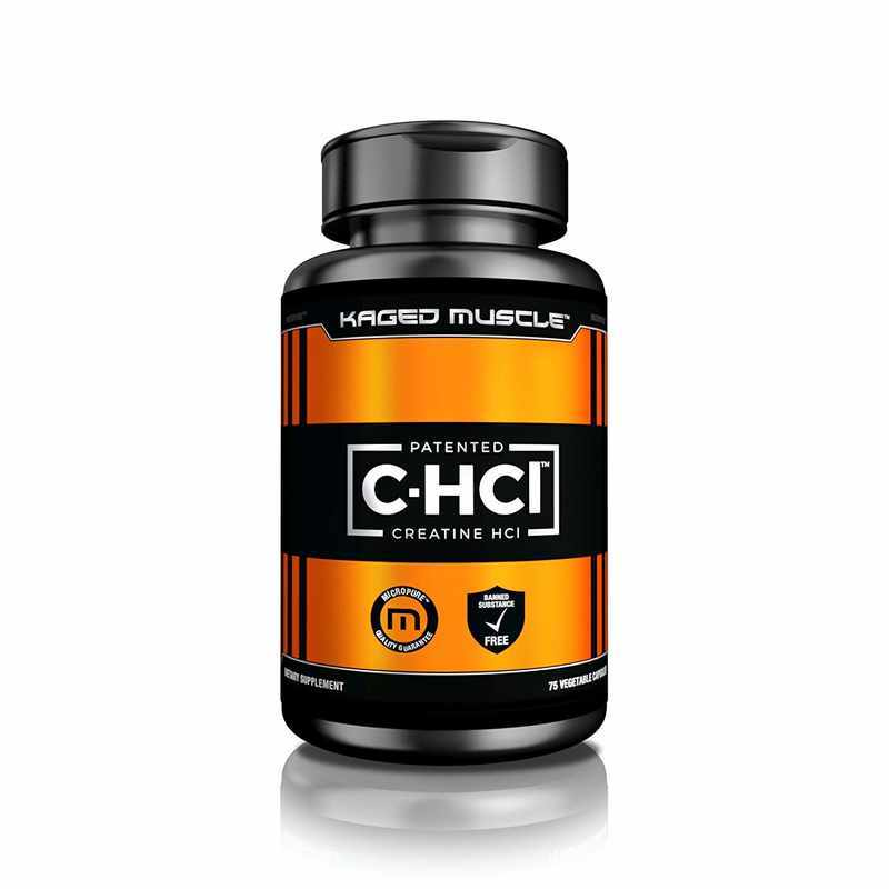 Kaged Muscle C-HCl, Patented Creatine HCL Vegetarian Capsules
