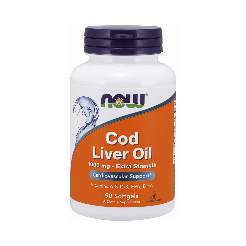 NOW Cod Liver Oil, Extra Strength 1000 mg