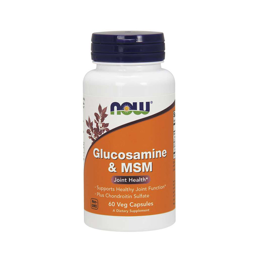 NOW Glucosamine & MSM with Chondroitin Sulfate 60 VCAPS