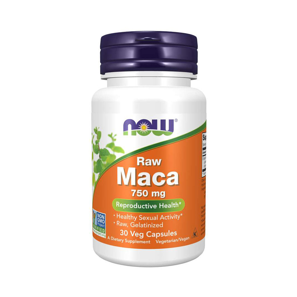 NOW Maca 6:1 Concentrate, 750 mg Raw