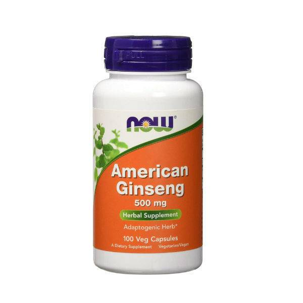 NOW American Ginseng 500 mg 100 VCAPS