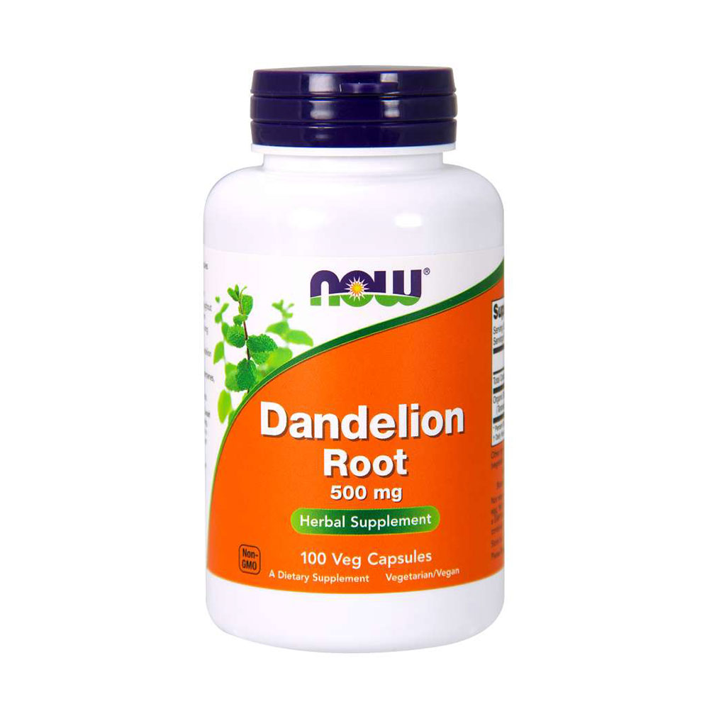 NOW Dandelion Root 500 mg 100 VCAPS